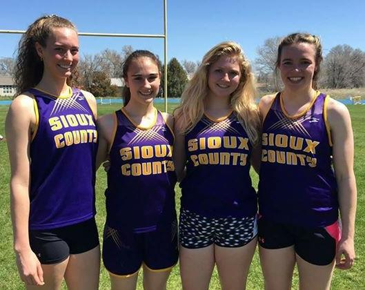 Sioux County Relay Team