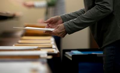 Auditor's office prepares absentee ballots