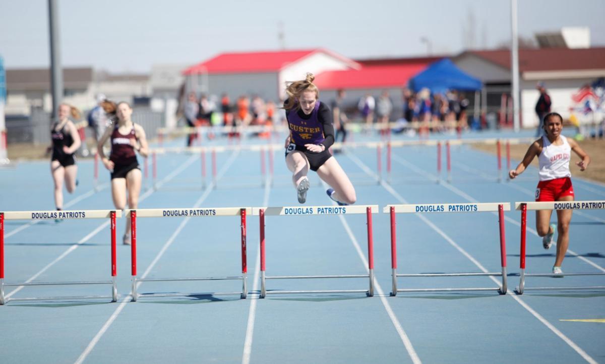 Douglas girls 300 hurdles