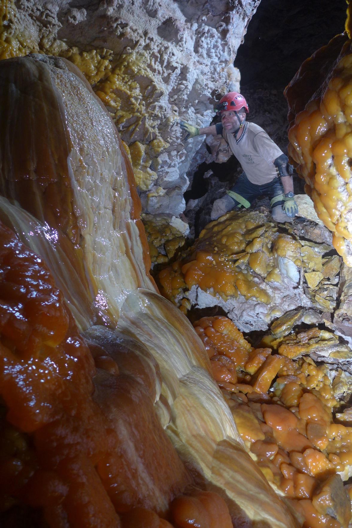 Jewel Cave stalagmite