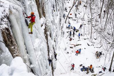 Exchange Ice Climbing Climate Change