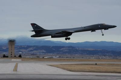 Ellsworth B-1 launches for training sortie (copy)