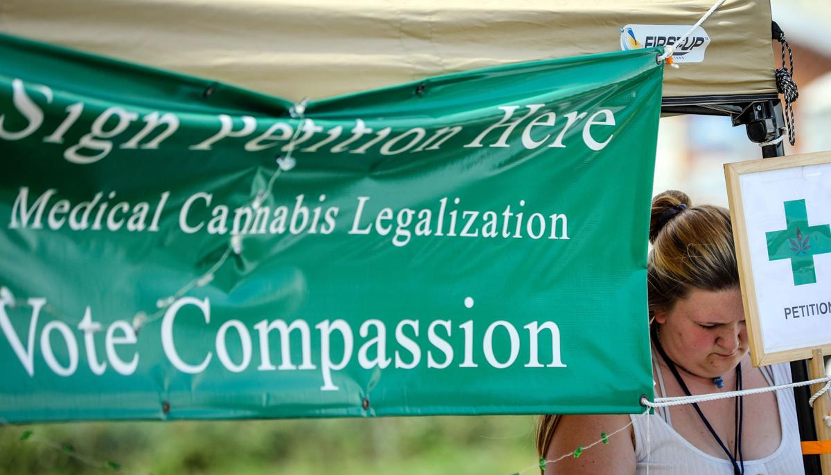Locals campaign for medical marijuana at Central States Fair