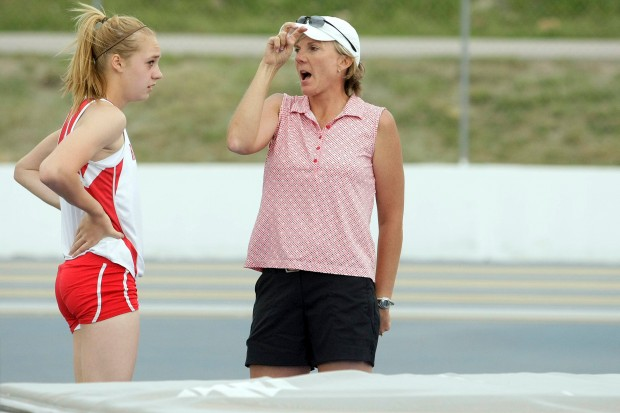 High School Track Centrals Christensen Breaks South Dakota Girls Triple Jump Record