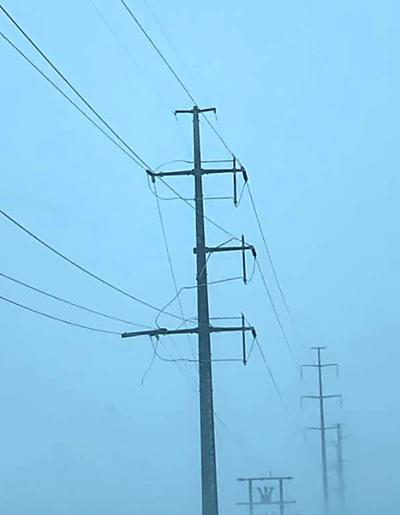 West River power line