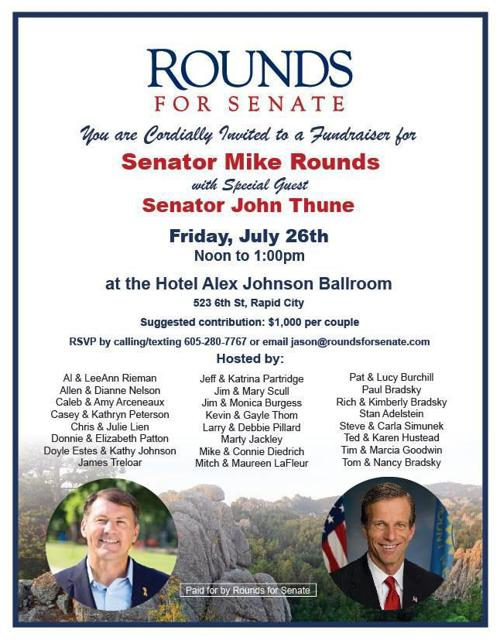 Rounds fundraiser invitation