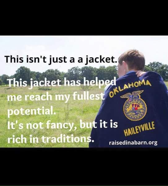 FFA jackets awarded to SD members