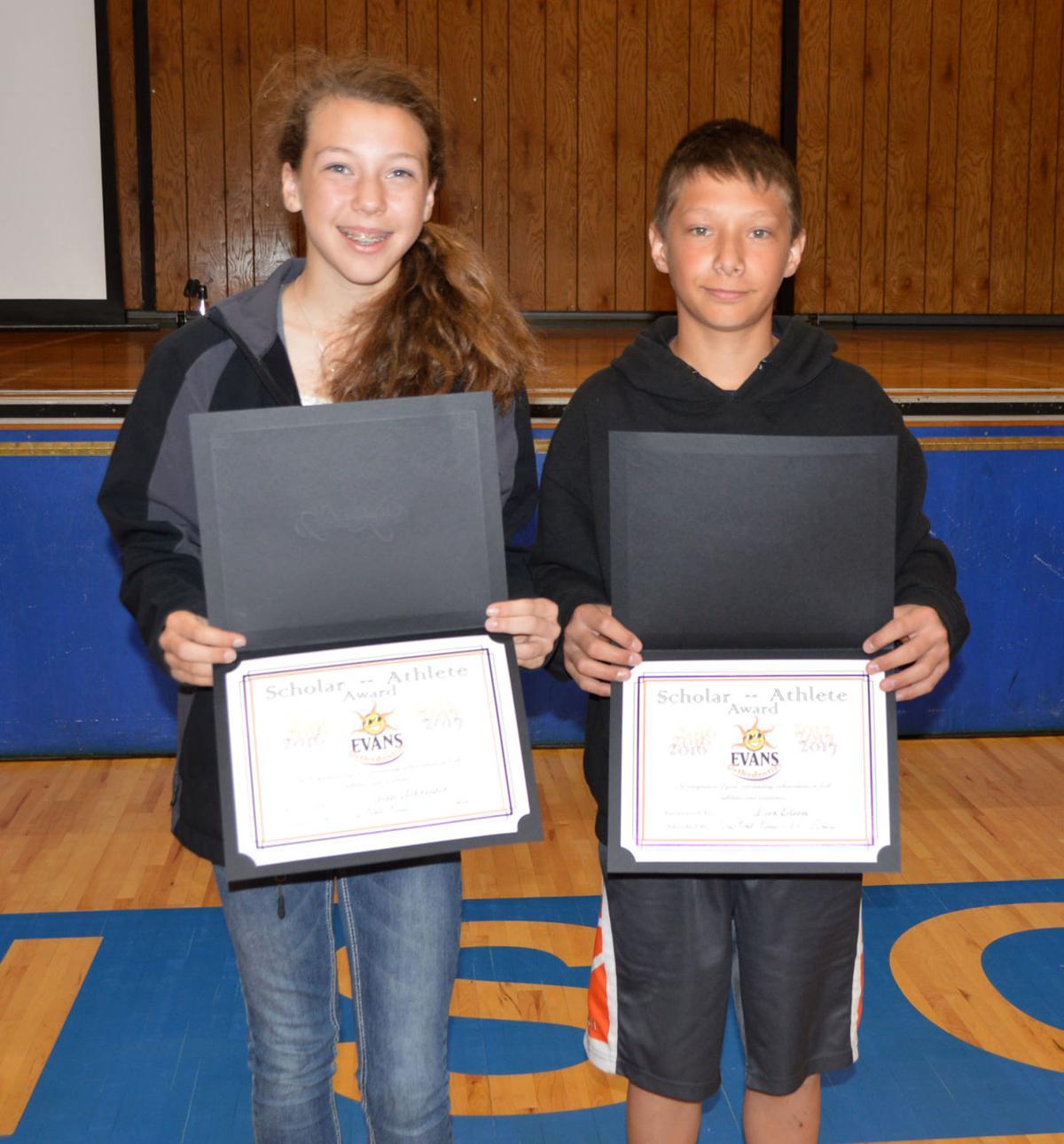 Athlete awards