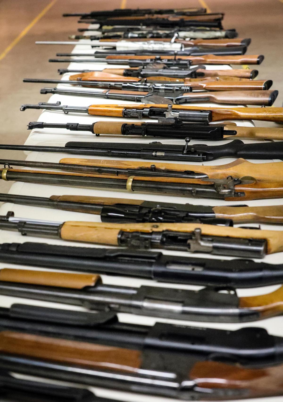 Seized Weapon Auction