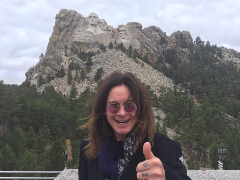 Ozzy at Rushmore