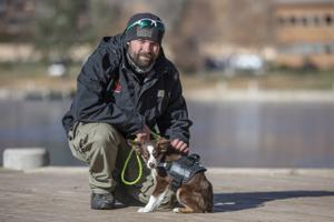 Dogs for those with dog tags; county service pairs veterans with K-9s