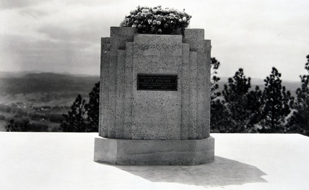 Alice Gossage Memorial, circa 1938