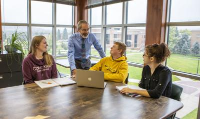 Dr. Greg Farley, Dean of College of Business and Natural Sciences at Black Hills State University