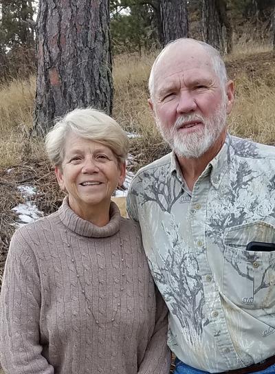 Linda and Cal Corey 50th