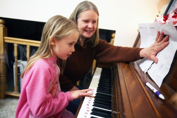 Simply Music gets piano students playing first and reading