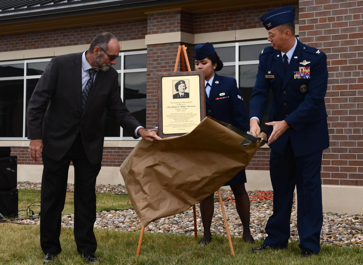 Ellsworth Airfield Ops building renamed in honor of fallen WASP