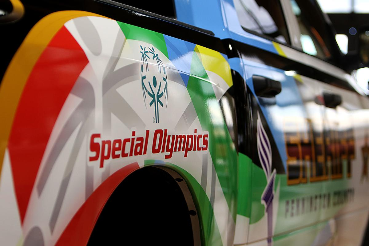 PCSO Special Olympics Vehicle Wrap