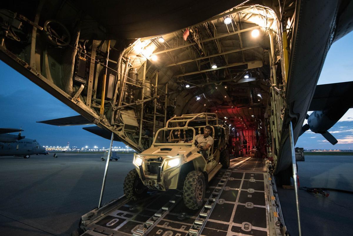 Kentucky Air Guardsmen deploying for Hurricane Harvey rescue operations