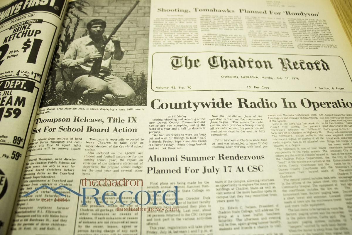 From the Archives - July 12, 1976 - The Chadron Record