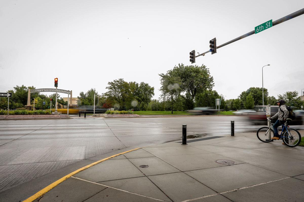 Intersection of 6th Street and Omaha Street