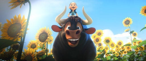 Review: Children's book 'Ferdinand' jumps to screen nicely