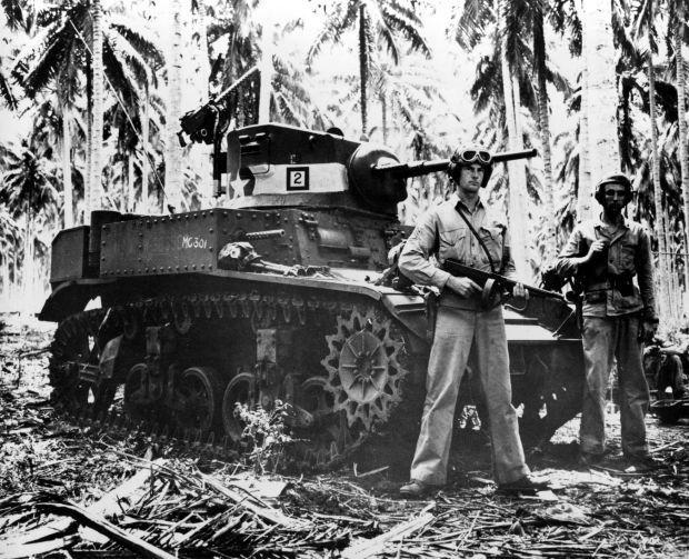 WWII U.S. MARINES GUADALCANAL