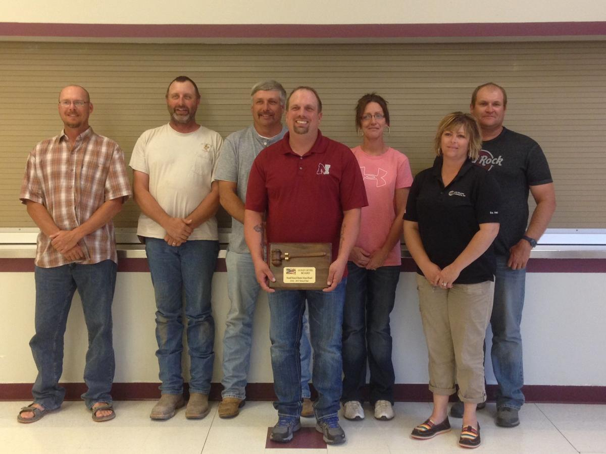 Newell School Board receives honor