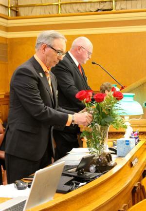 Memorial service honors departed South Dakota legislators
