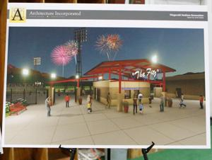 Post 22 fans get a glimpse of new facility