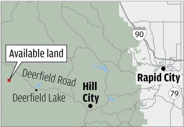 Land auction map