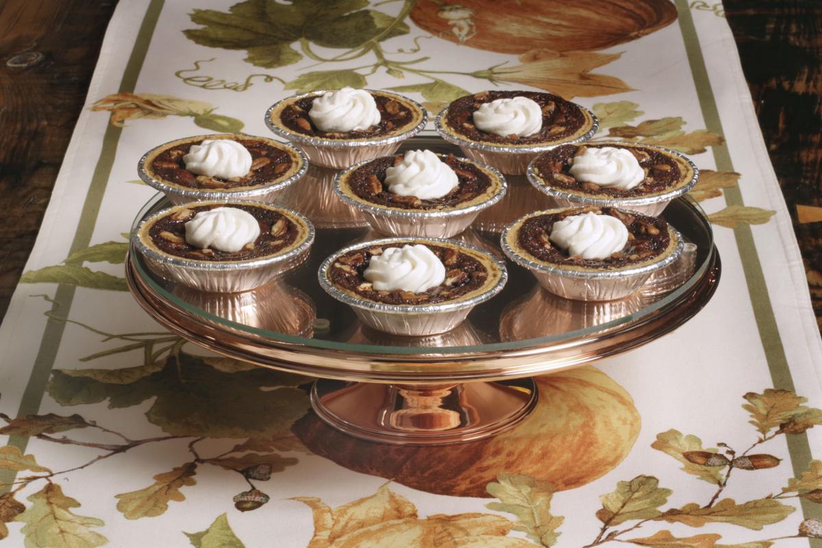 Food American Table Chocolate Pecan Pies