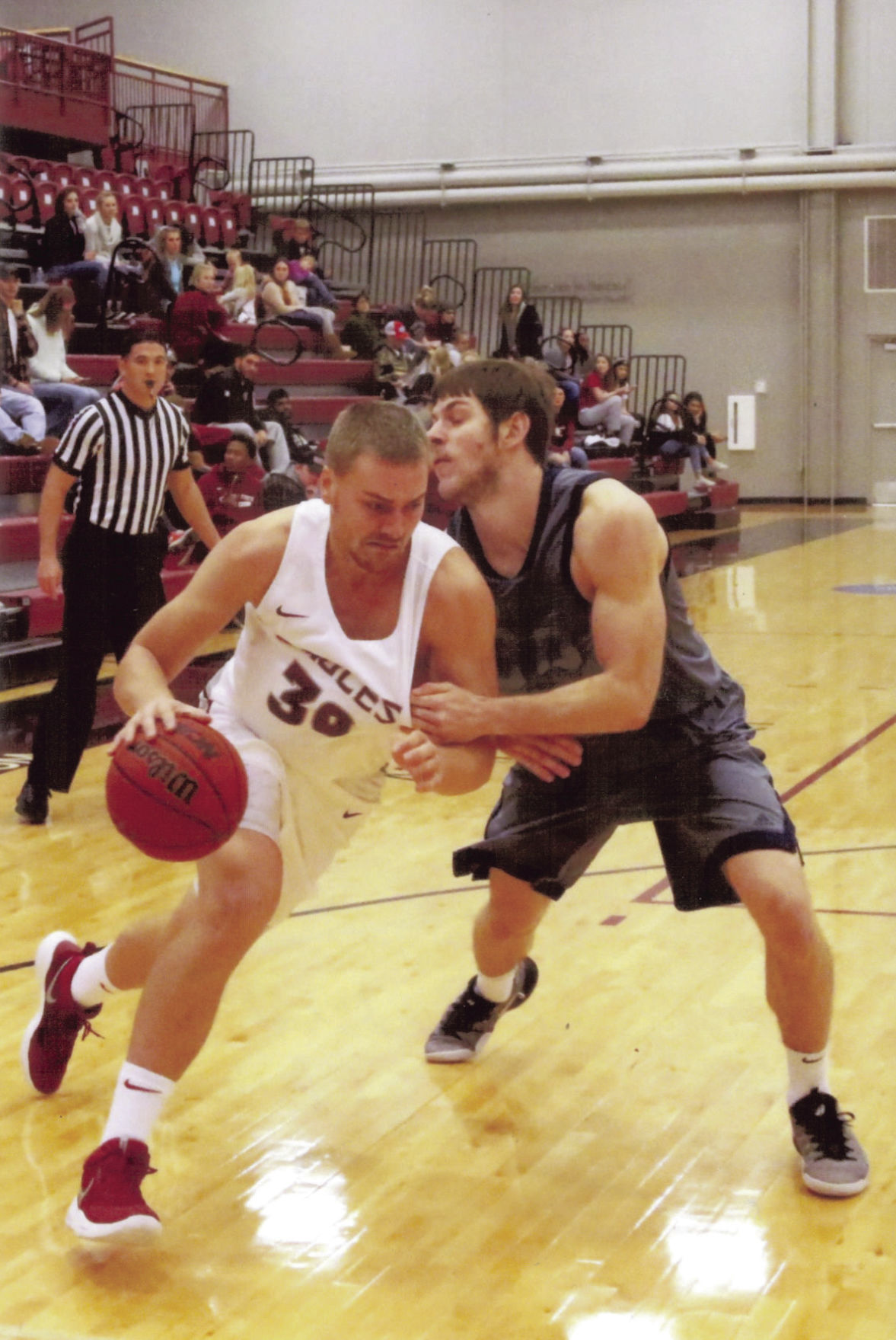 basketball team - 4, Matt Reader, has been one of the steadiest players on the Chadron State  men's basketball team.