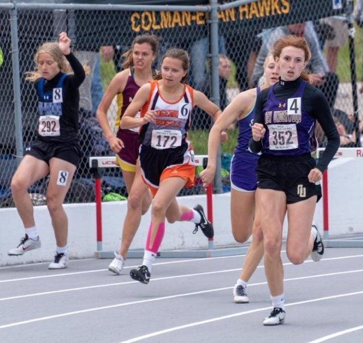 Morgan running