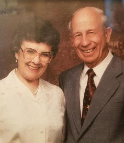 Olive and Ted Jacobs