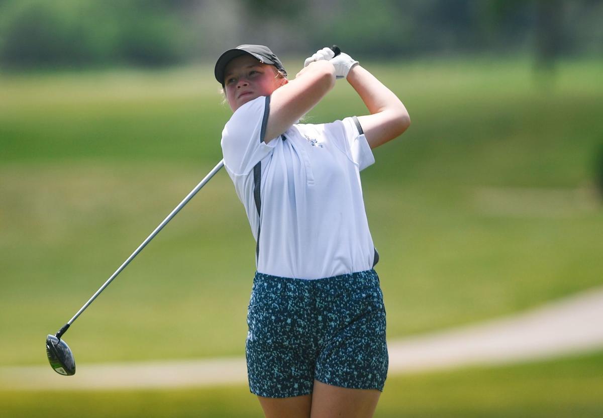 Girls State Golf 019