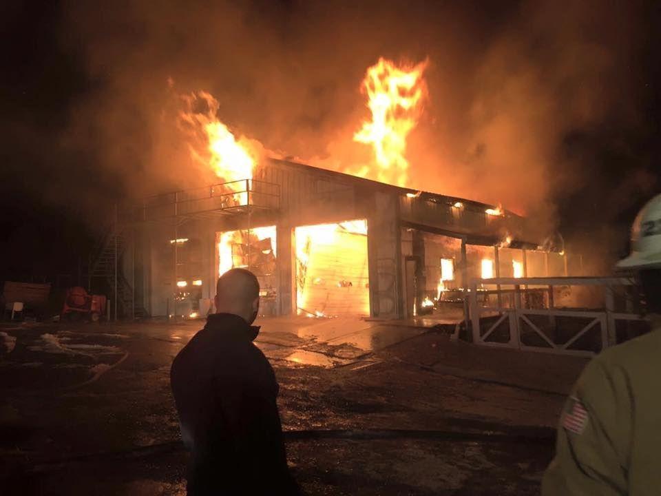 Fire Destroys Paint Shop Photos Rapidcityjournal Com