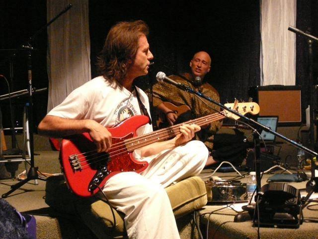 Denver-based kirtan leader Rick Franz