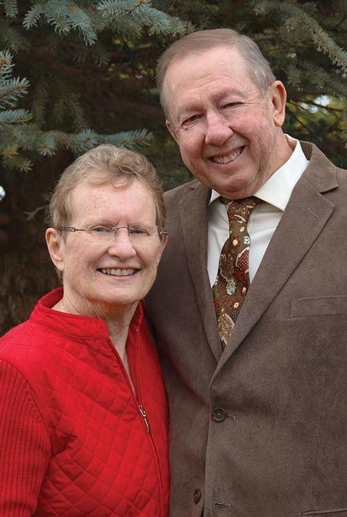 Connie and Dennis Mather