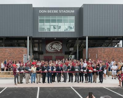 Stadium Ribbon Cutting