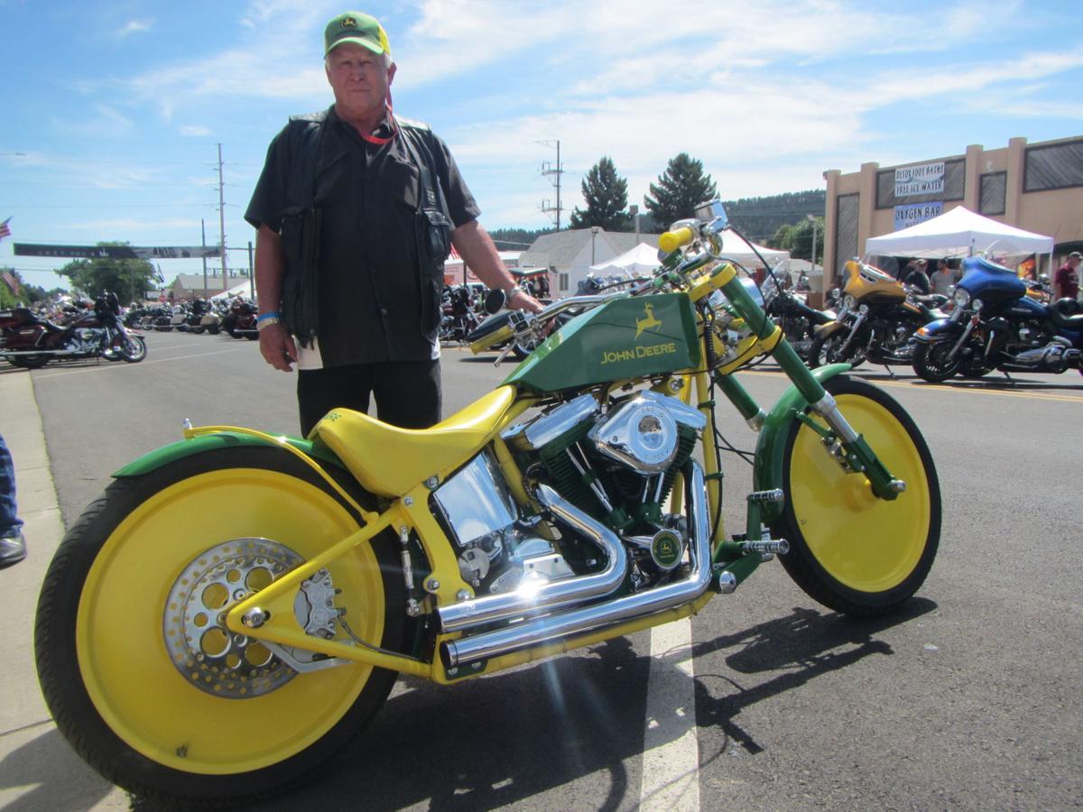 trike motorcycles | John Deer motorcycle Trike | Trike ...  |John Deere Trike Sturgis