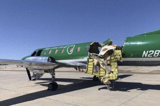 Airplane Collision Colorado