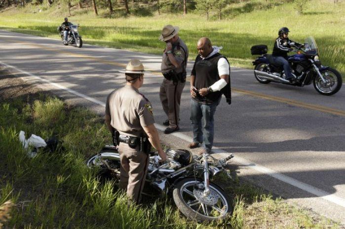 Motorcycle Wreck Near Johnson Siding Sturgis Rally Daily