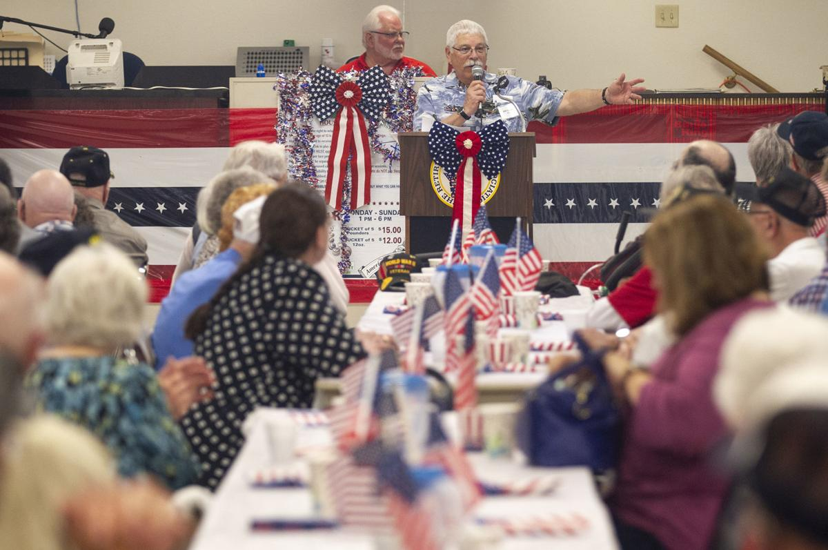 WWII veterans lunch