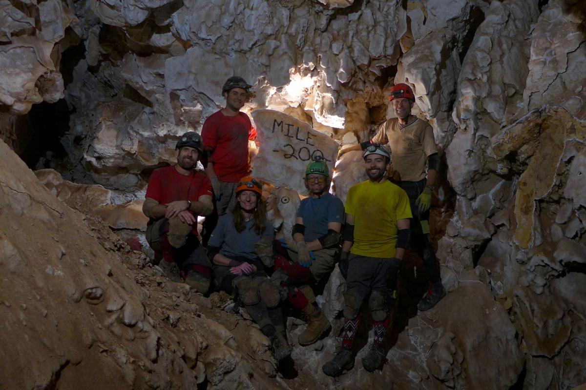 Jewel Cave's 200th mapped mile