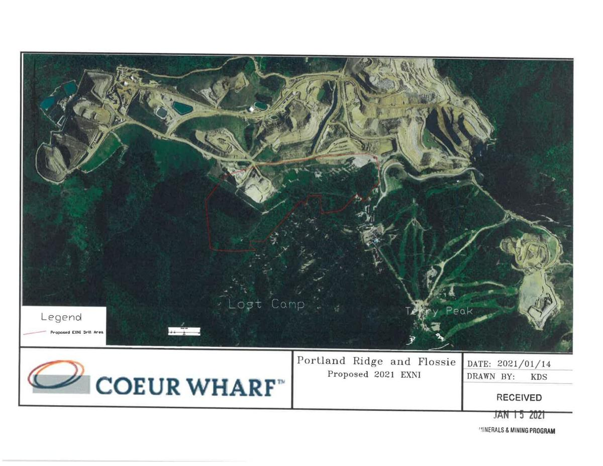 Wharf Mine exploration public map