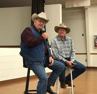Two Wyoming authors share with crowd