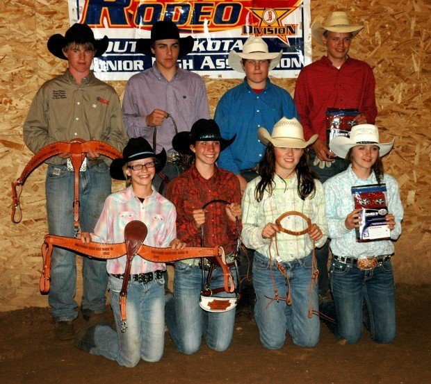State Junior High Rodeo Team For Nationals Wins At