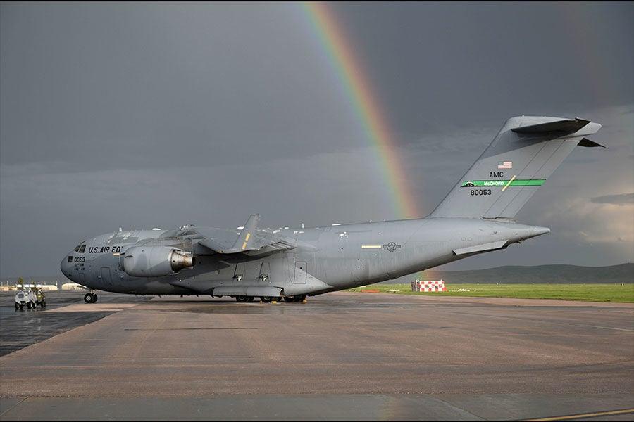 C-17 at Ellsworth