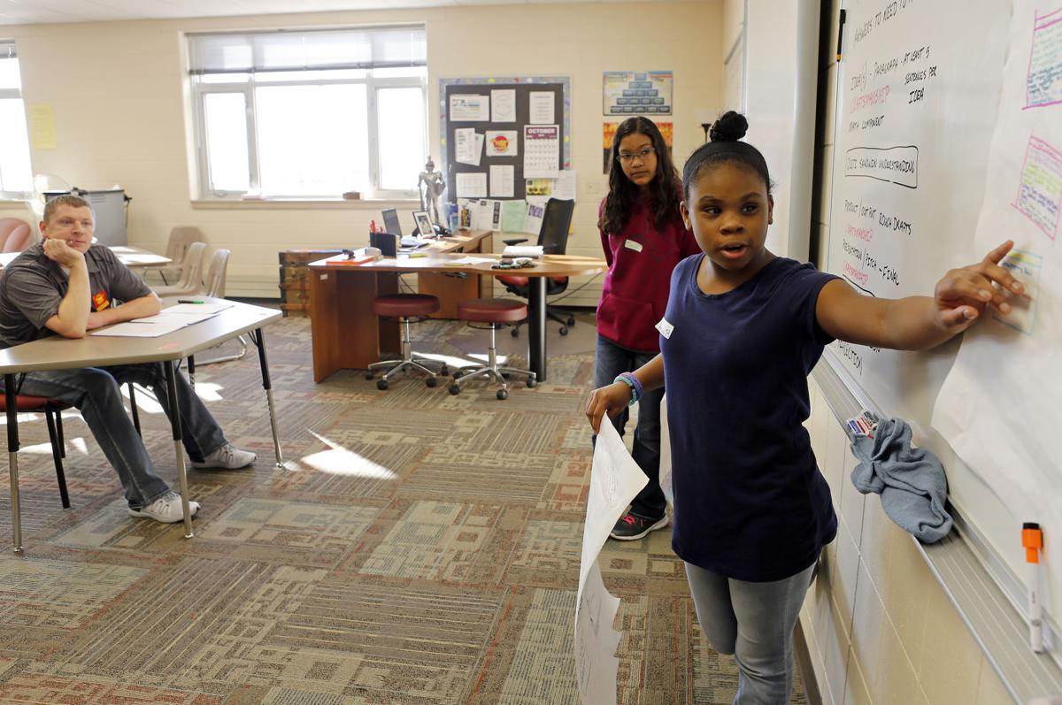 RCAS School Push Innovation For Student Growth