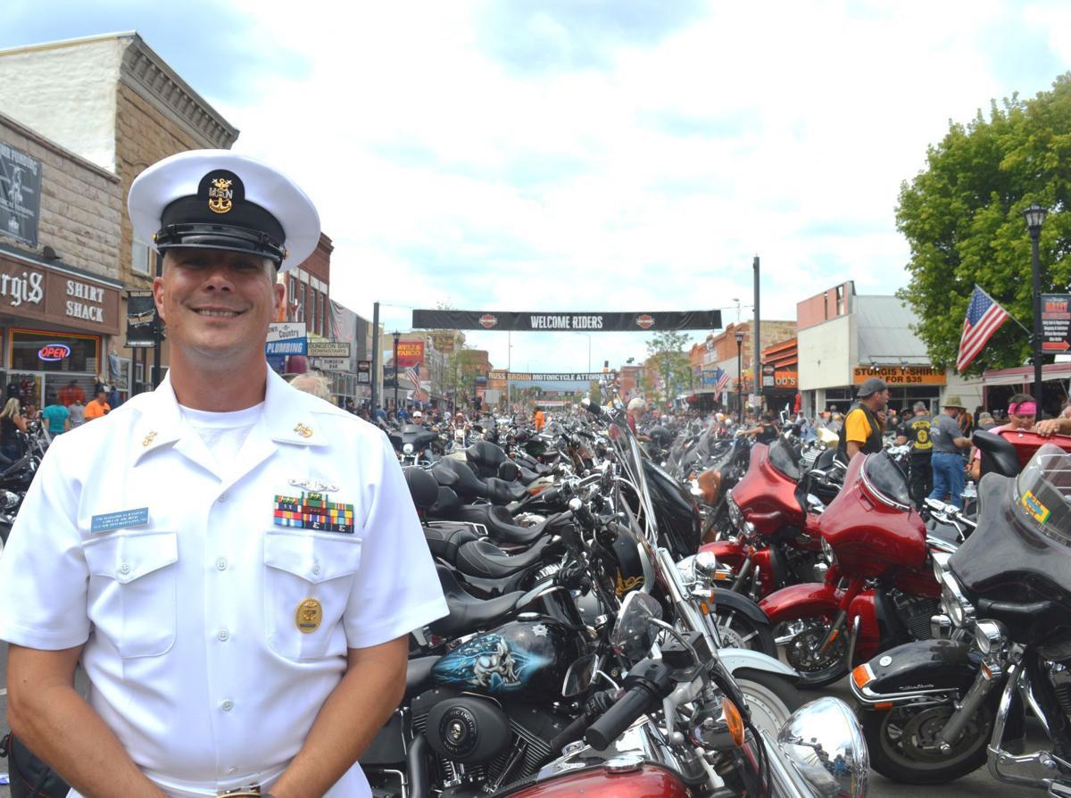 USS South Dakota Chief of Boat